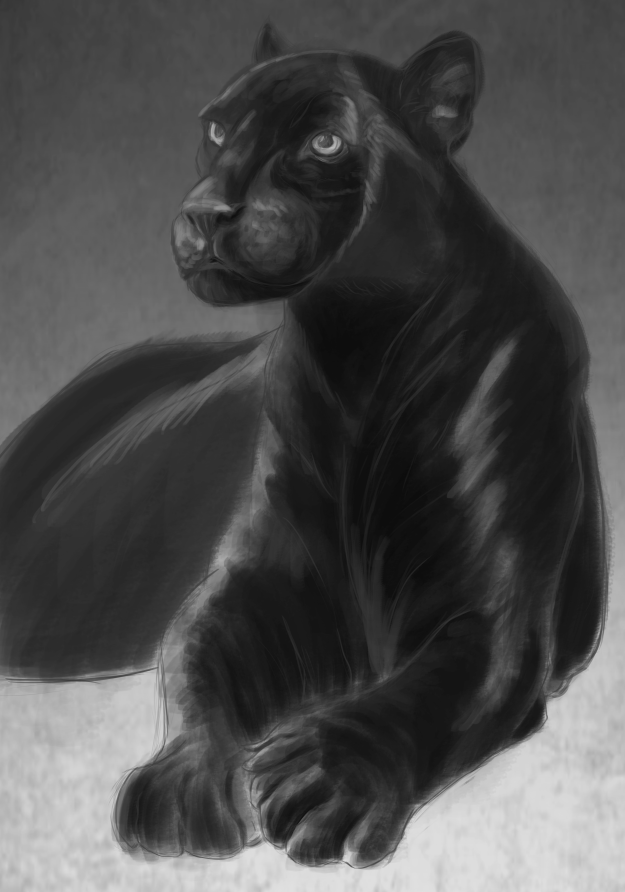 black-panther-painting-update