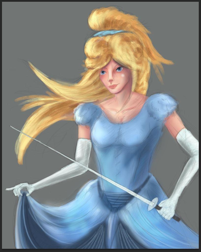 Cinderella Basic Paint